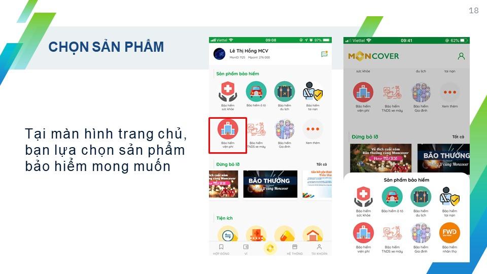 tao hop dong tren app moncover